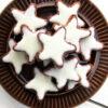 Vegane Glutenfreie Zimtsterne Plaetzchen Ohne Ei Ohne Milch Ohne Zucker Rezept 4 1