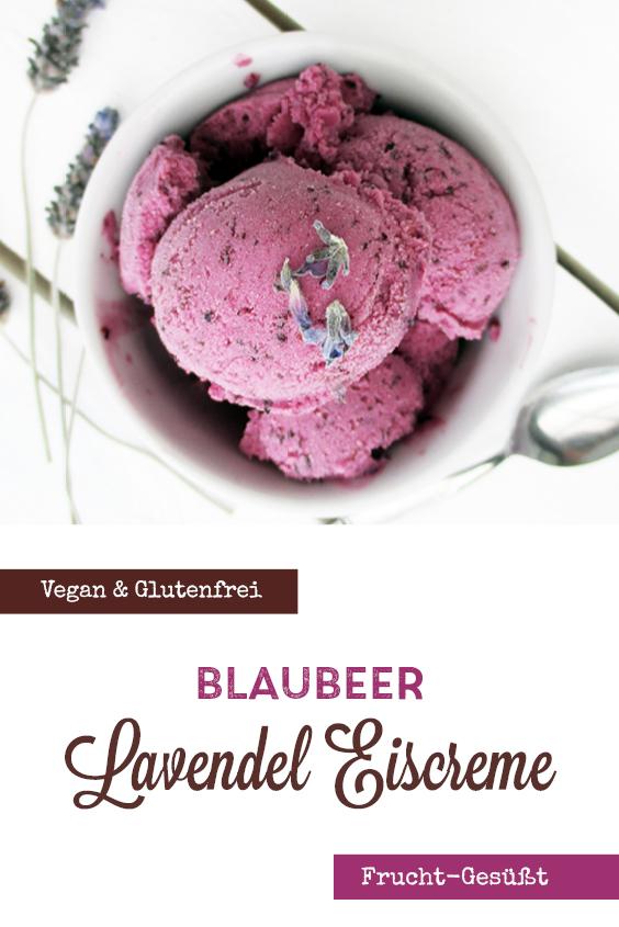 Vegane Glutenfreie Fruchtgesuesste Heidelbeer Lavendel Eiscreme Ohne Milch Rezept P1