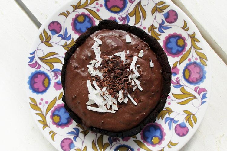 Vegane Glutenfreie Mini Schoko Pudding Toertchen Ohne Oel Rezept 1 1