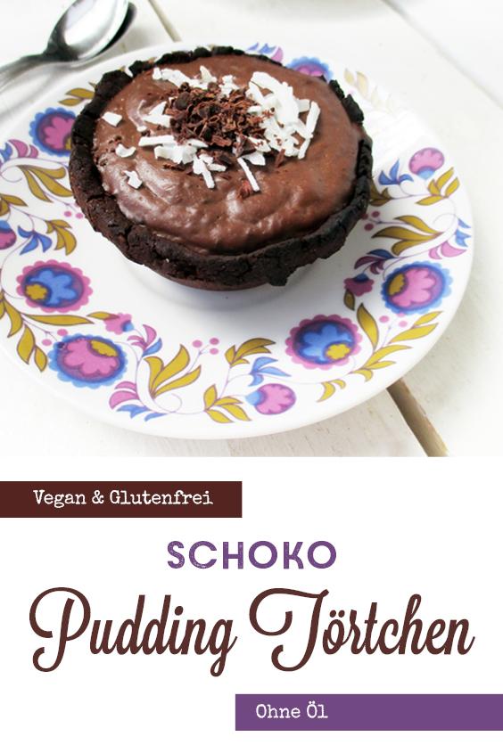 Vegane Glutenfreie Mini Schoko Pudding Toertchen Ohne Oel Rezept P4