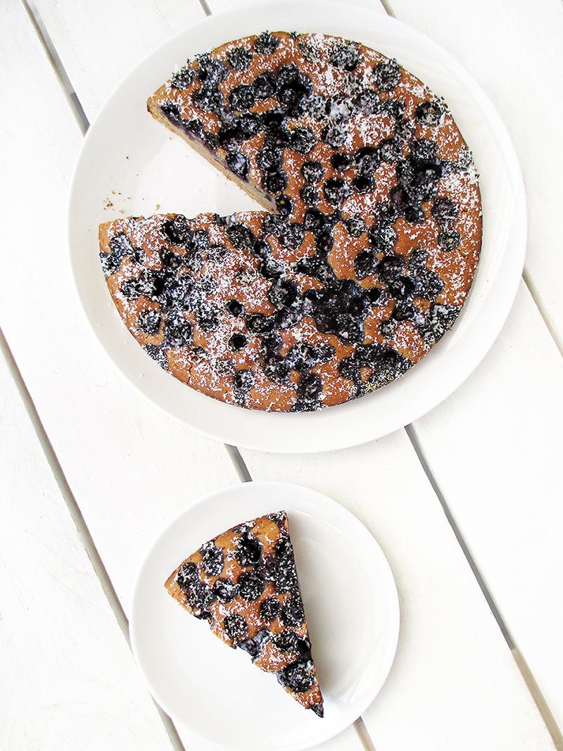 Veganer und glutenfreier Frucht-Kuchen
