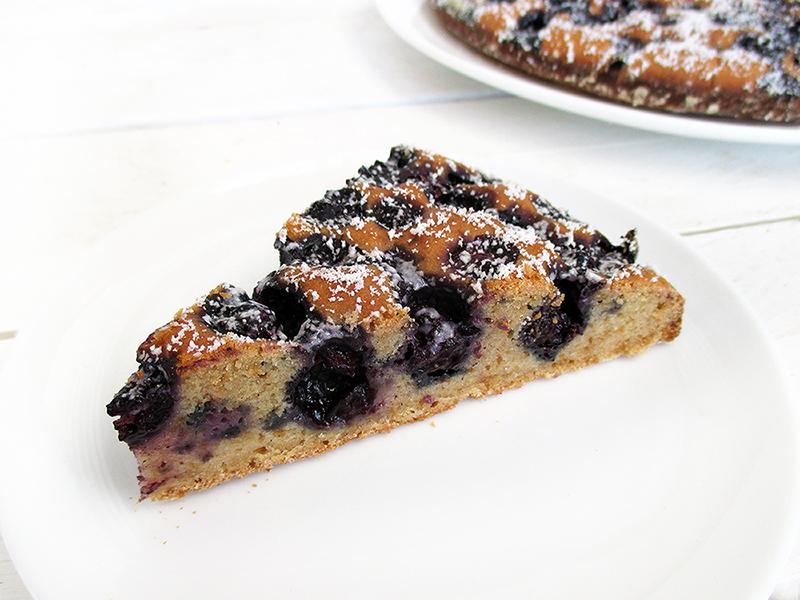 Veganer Glutenfreier Einfacher Frucht Beeren Kuchen Rezept 2