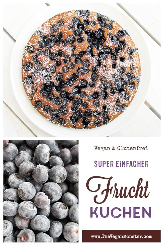 Veganer Glutenfreier Einfacher Frucht Beeren Kuchen Rezept P1 1