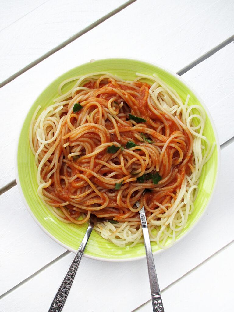 Vegan Gluten free Oil free Roasted Cherry Tomato Soup or Pasta Sauce Recipe 4 1