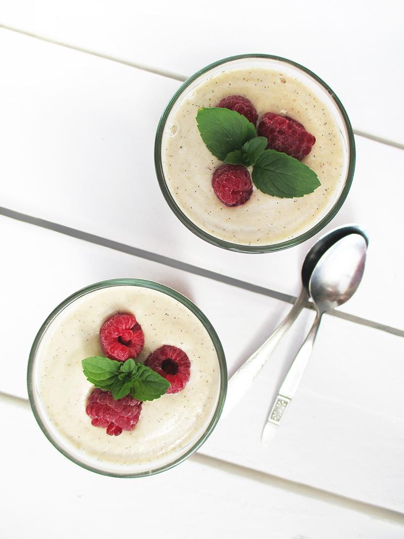 Vegan Glutenfrei Fruchtgesuesst Himbeer Gelee Kompott Ohne Milch Rezept 4