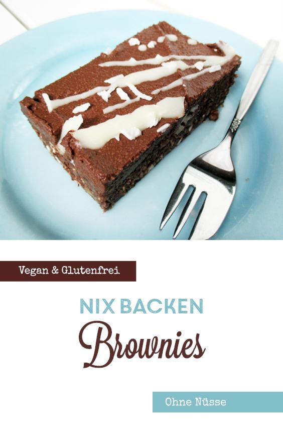 Vegane Glutenfreie Nix Backen Brownie Ohne Nuesse Rezept P2