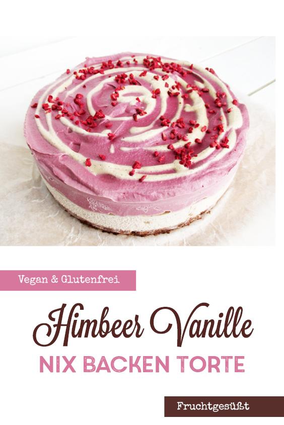 Vegane Glutenfreie Nix Backen Himbeer Vanille Torte Fruchtgesuesst Ohne Milch Rezept P2