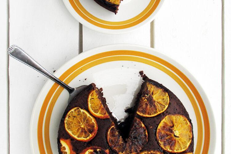 Veganer Glutenfreier Schoko Orangen Kuchen Ohne Kristallzucker Rezept 2 1