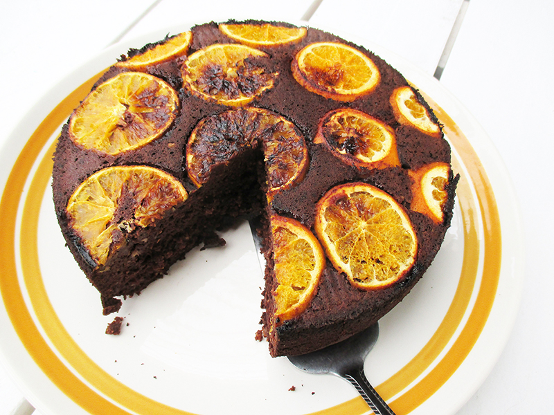 Veganer Glutenfreier Schoko Orangen Kuchen Ohne Kristallzucker Rezept 4