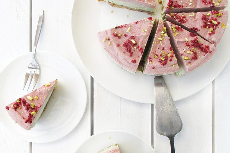 Vegane Glutenfreie Fruchtgesuesste Nix Backen Erdbeer Limette Torte Rezept 4 1
