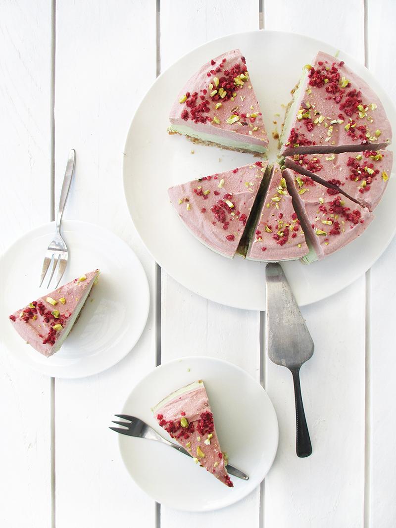 Vegane Glutenfreie Fruchtgesuesste Nix Backen Erdbeer Limette Torte Rezept 4