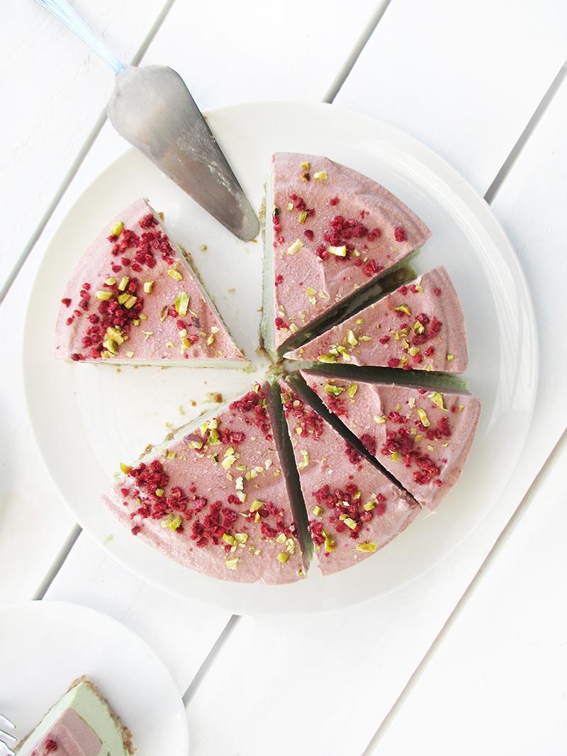 Vegane Glutenfreie Fruchtgesuesste Nix Backen Erdbeer Limette Torte Rezept 6