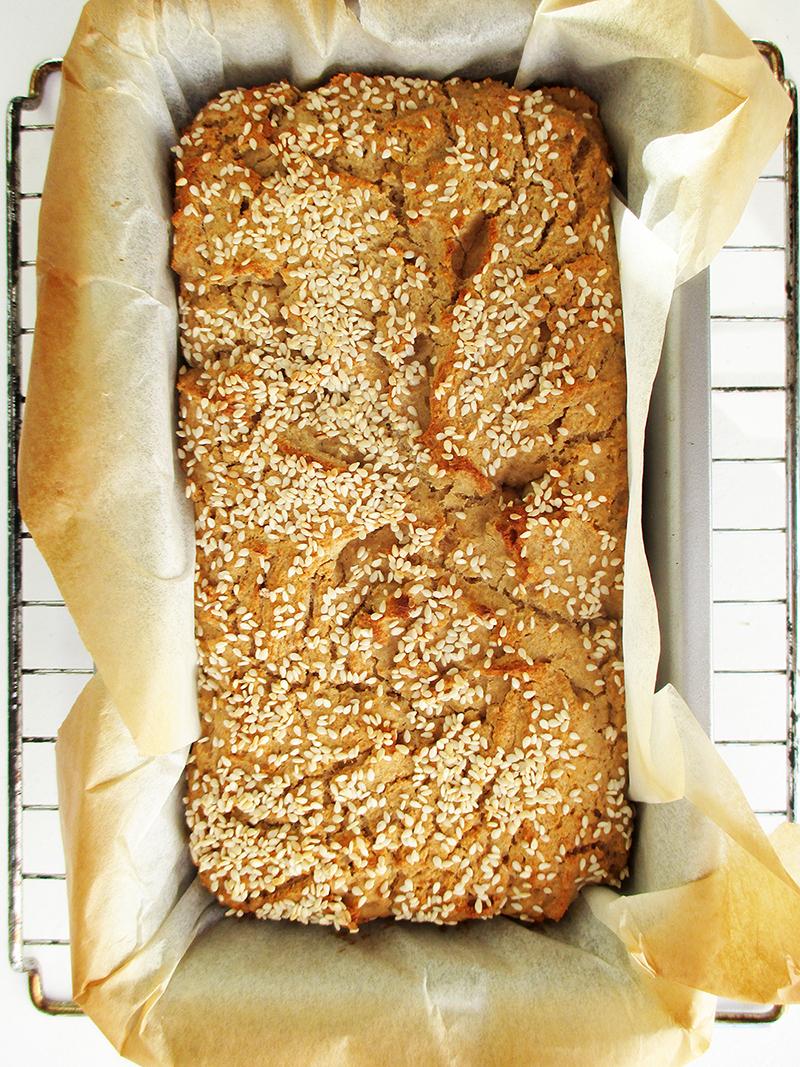 Vegan Gluten free Dairy free Quinoa Bread Recipe 02