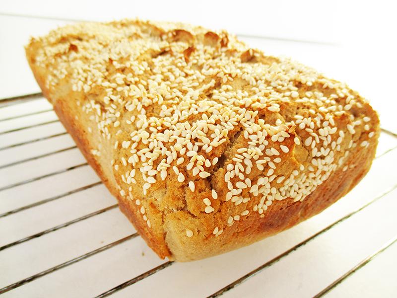 Vegan Gluten free Dairy free Quinoa Bread Recipe 03
