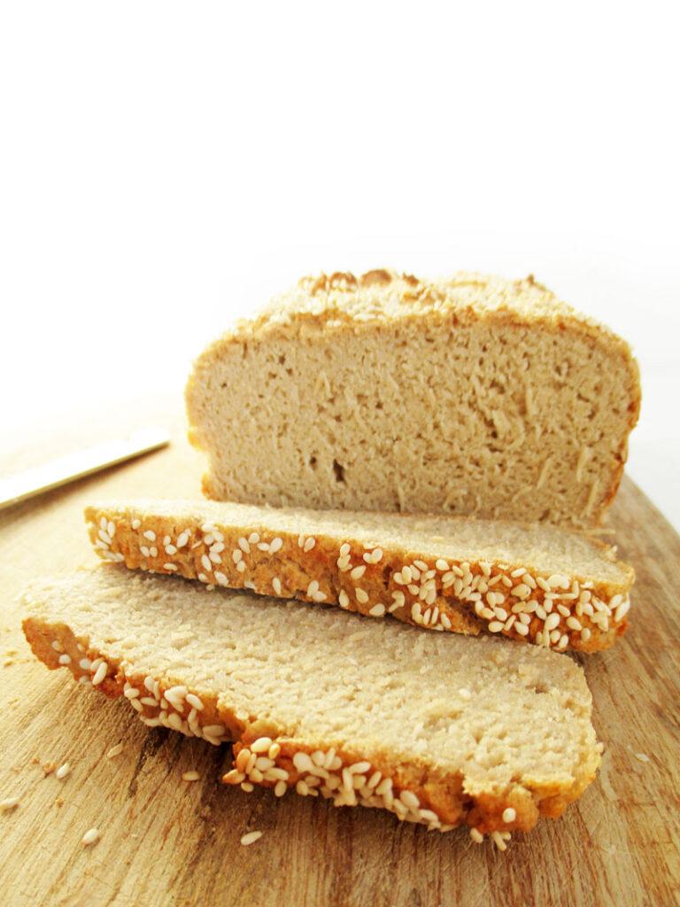 Vegan Gluten-free Dairy-free Quinoa Bread Recipe
