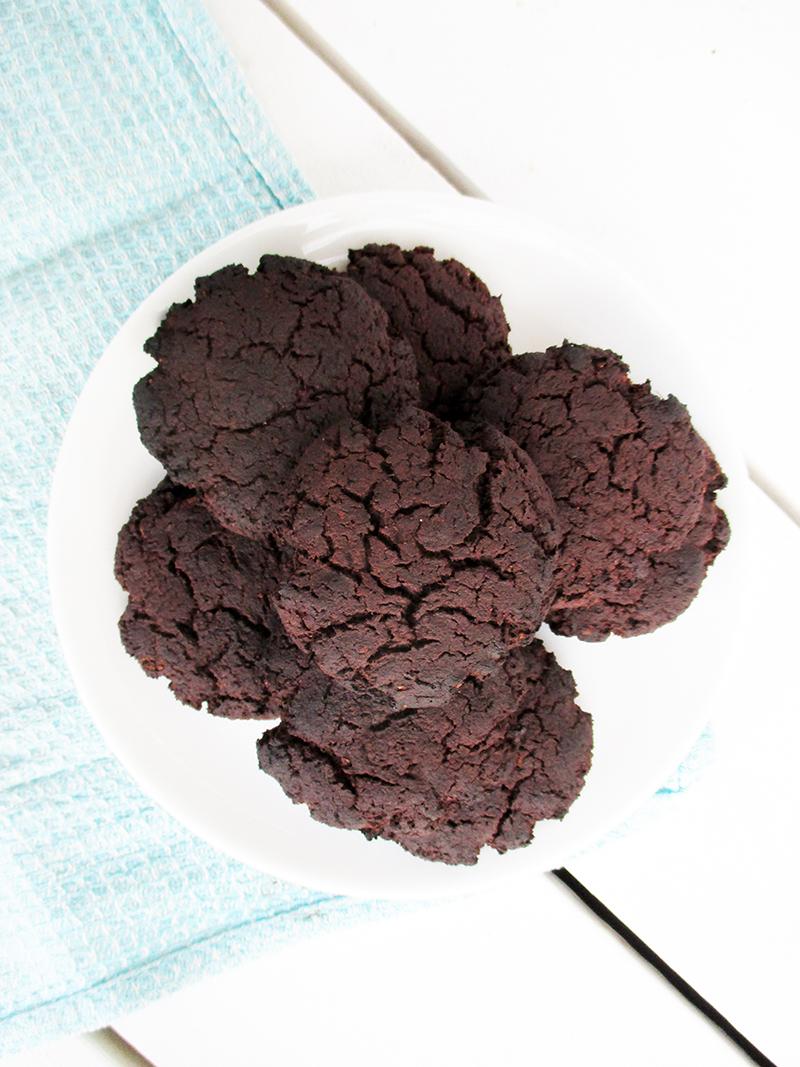 Vegan Gluten free Flour Less Dark Chocolate Cookies Without Refined Sugar Free Recipe 3