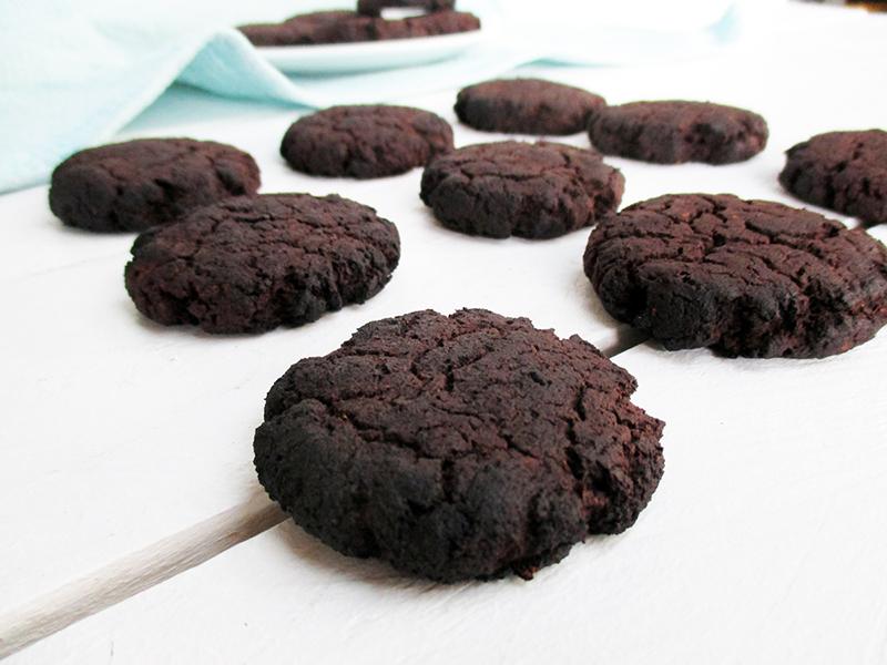Vegan Gluten free Flour Less Dark Chocolate Cookies Without Refined Sugar Free Recipe 5