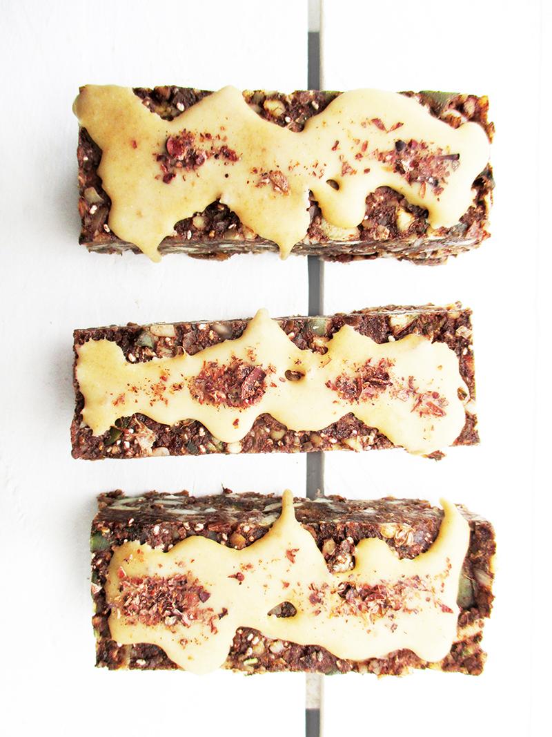 Vegan Gluten free No Bake Chocolate Energy Musli Bars Recipe 2