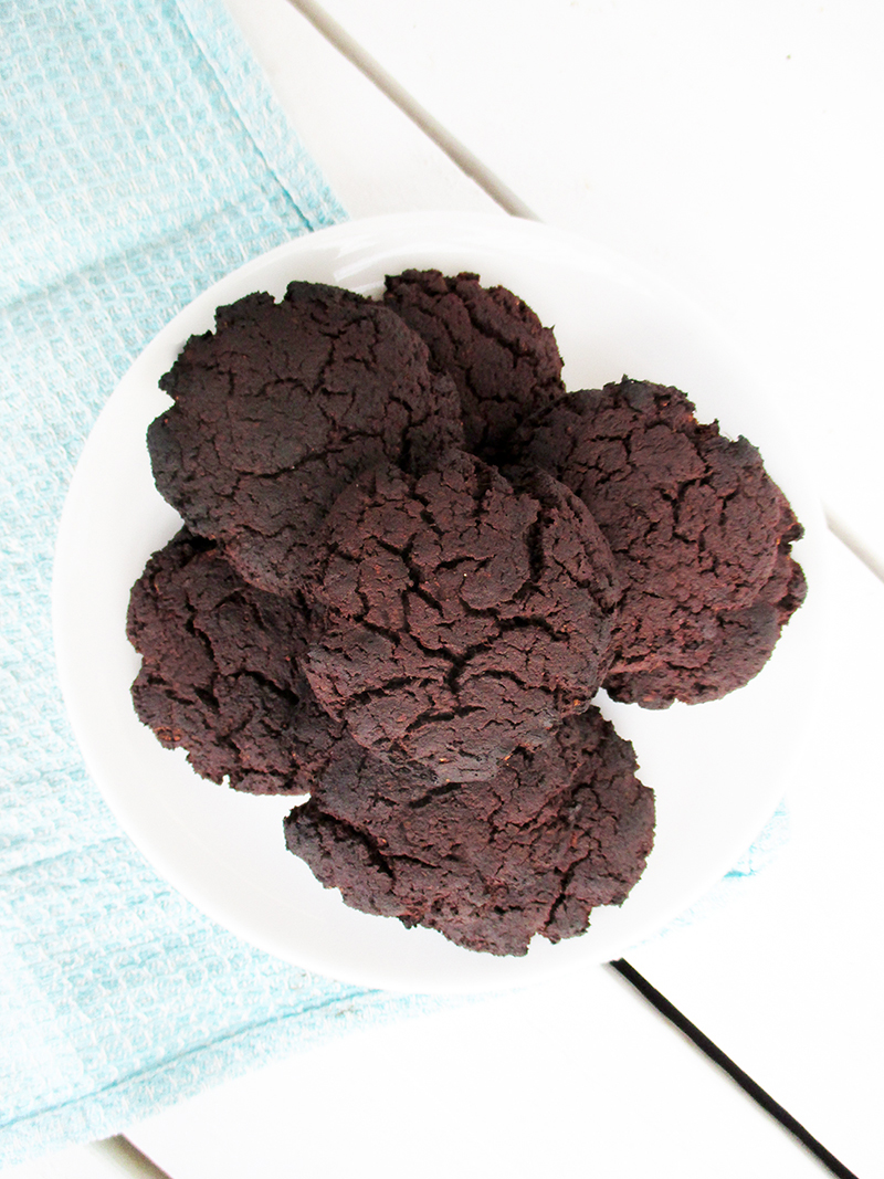 Vegane Glutenfreie Dunkle Schoko Kekse Cookies Ohne Mehl Ohne Kristallzucker Rezept 3 1