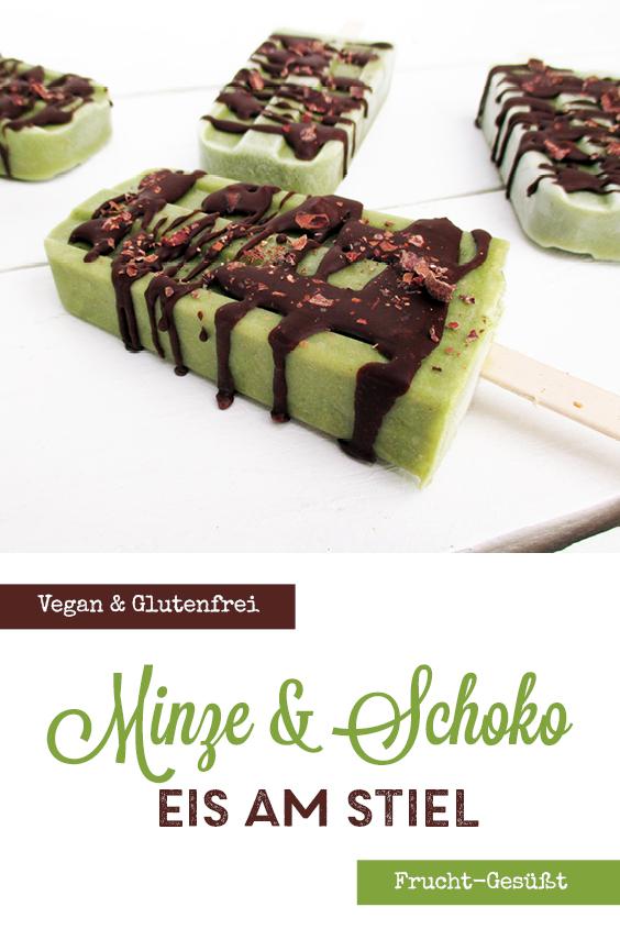 Vegane Glutenfreie Minze Schoko Eis Am Stiel Ohne Zucker Ohne Milch Rezept P3