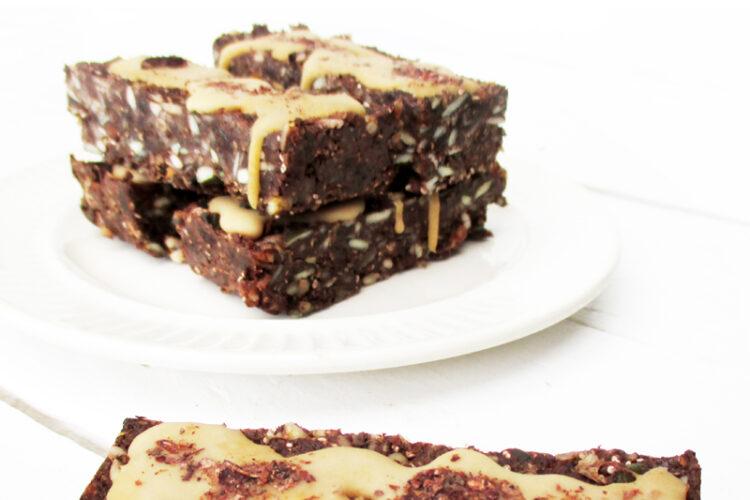 Vegane Glutenfreie Nix Backen Energie Muesli Riegel Ohne Zucker Rezept 4 1
