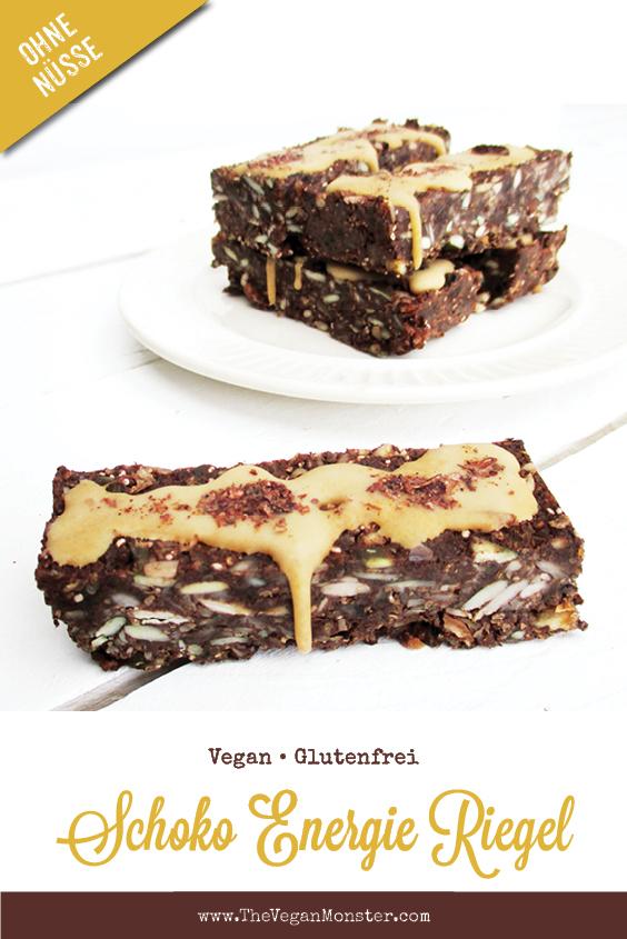 Vegane Glutenfreie Nix Backen Energie Muesli Riegel Ohne Zucker Rezept P2