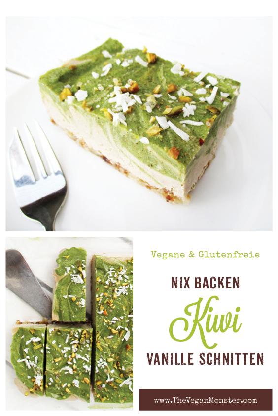Vegane Glutenfreie Nix Backen Kiwi Vanille Kuchen Schnitten Ohne Milch Fruchtgesuesst Rezept P1