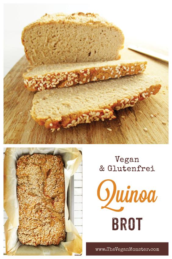 Veganes Glutenfreies Quinoa Brot Ohne Milch Rezept P1