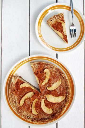 Nix Backen Vegane Glutenfreie Apfel Zimt Torte Rezept 2 1