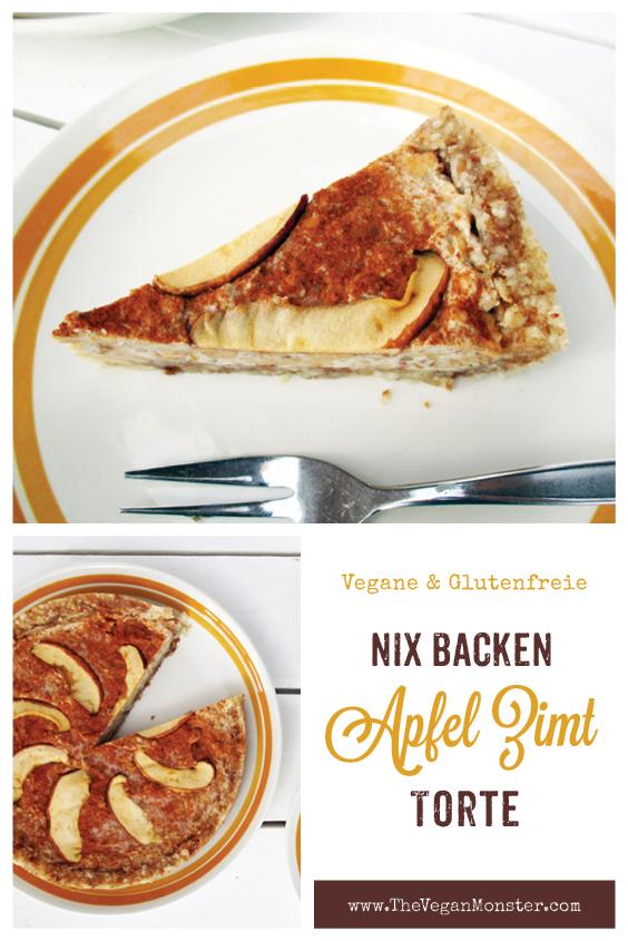 Nix Backen Vegane Glutenfreie Apfel Zimt Torte Rezept P1
