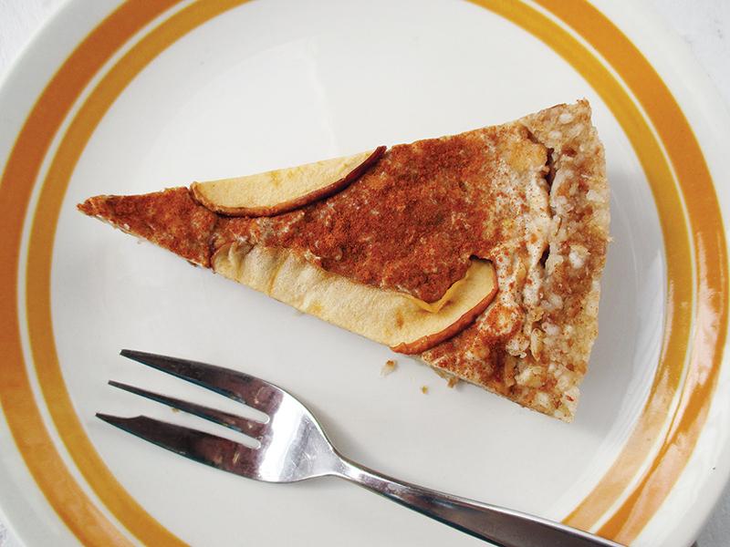 No Bake Raw Vegan Gluten free Dairy free Apple Cinnamon Tart Recipe 3