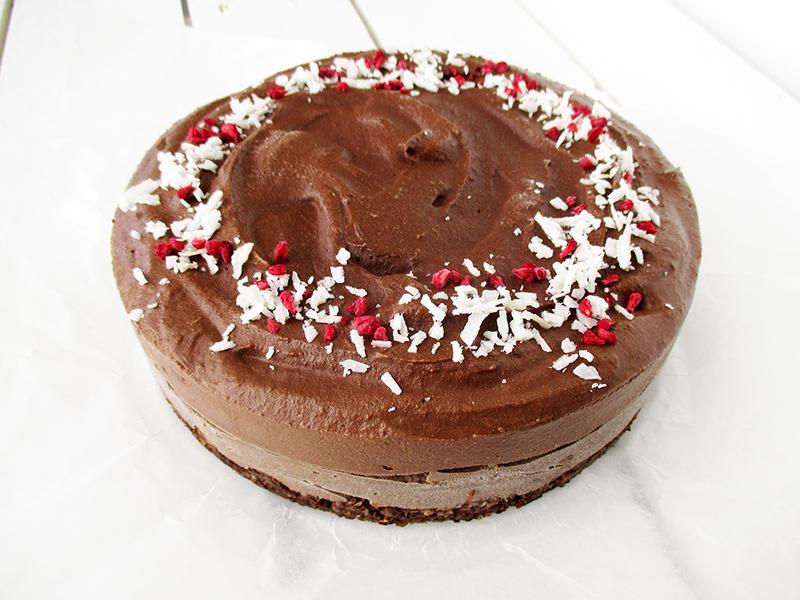 Vegan And Gluten-Free Double Chocolate Cake