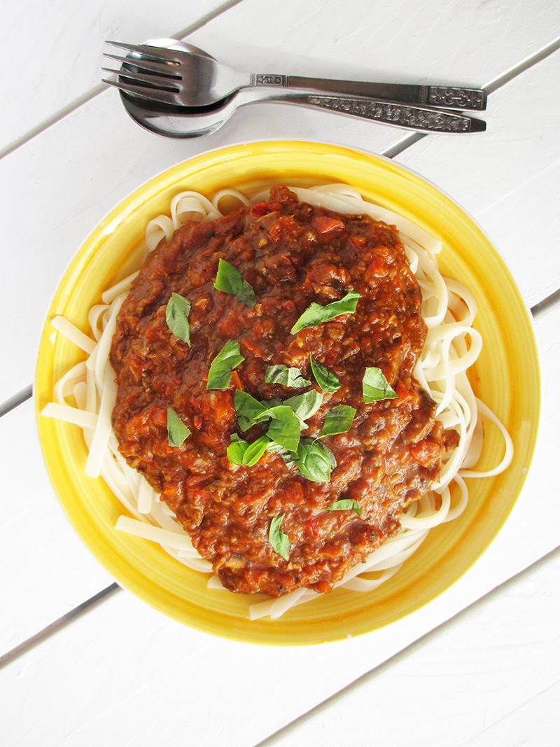 Vegane Glutenfreie Nix Fleisch Bolognese Sosse Ohne Soja Ohne Tomate Rezept 2