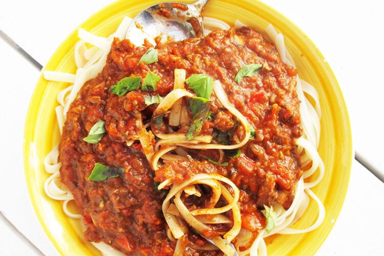 Vegane Glutenfreie Nix Fleisch Bolognese Sosse Ohne Soja Ohne Tomate Rezept 4 1