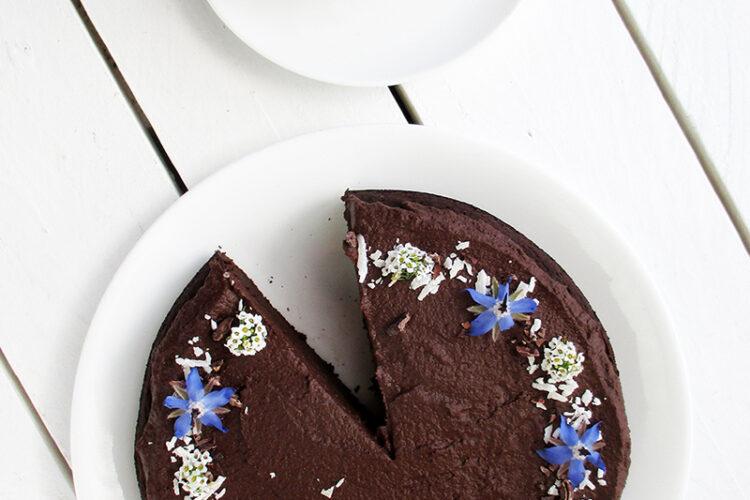 Veganer Glutenfreier Schoko Kuchen Ohne Milch Ohne Ei Ohne Oel Rezept 4 1