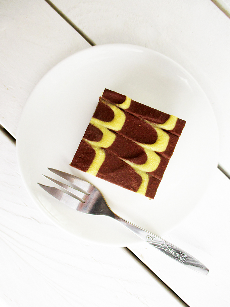 Gluten-free Orange Chocolate Slices Without Baking
