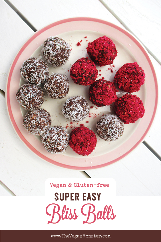 Vegan Gluten free Refined Sugar Free Bliss Balls Energy Recipe P2