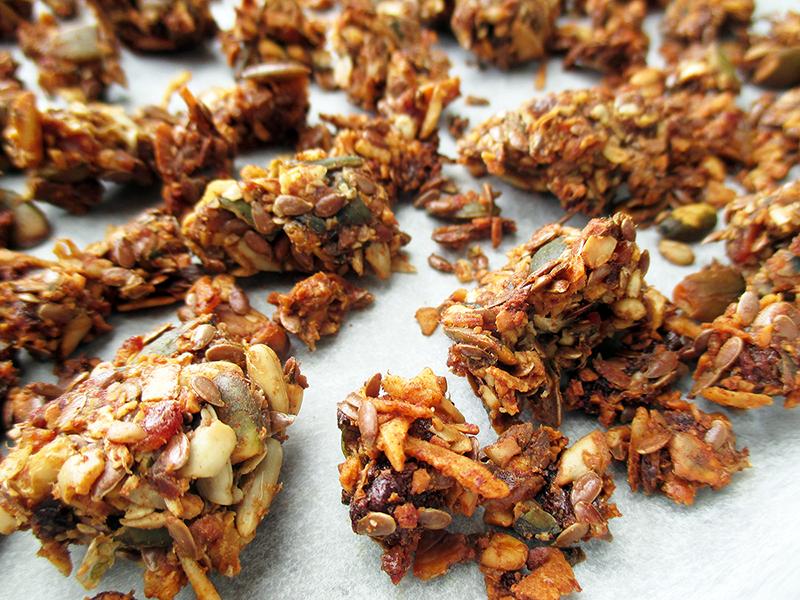 Vegan Gluten free Refined Sugar Free Nut Free Home Made Musli Recipe 2