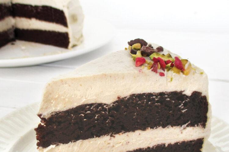 Vegane Glutenfreie Schoko Torte Mit Vanille Butter Creme Ohne Milch Ohne Haushaltszucker Rezept 4 1