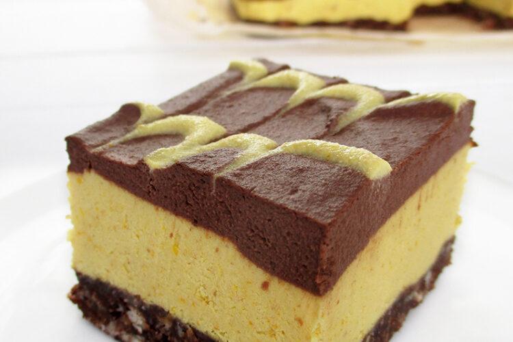 Veganer Glutenfreier Rohkoestlicher Nix Backen Orangen Schokoladen Kuchen Rezept 1 1