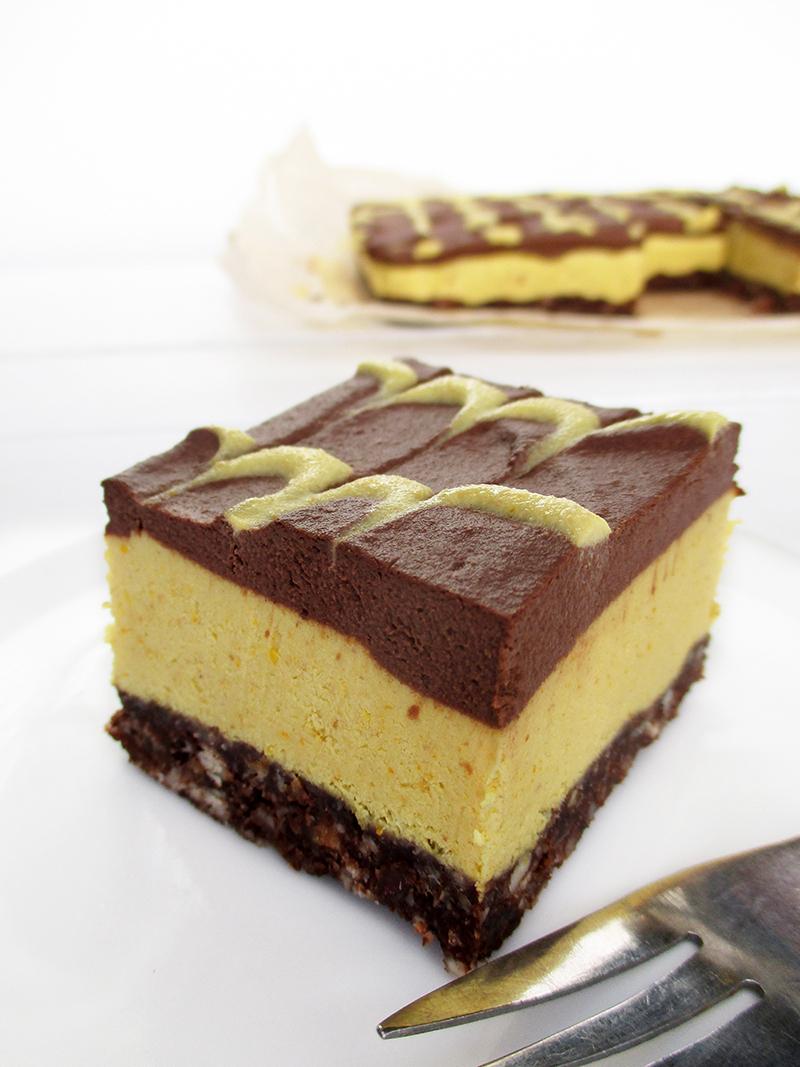 Veganer Glutenfreier Rohkoestlicher Nix Backen Orangen Schokoladen Kuchen Rezept 1