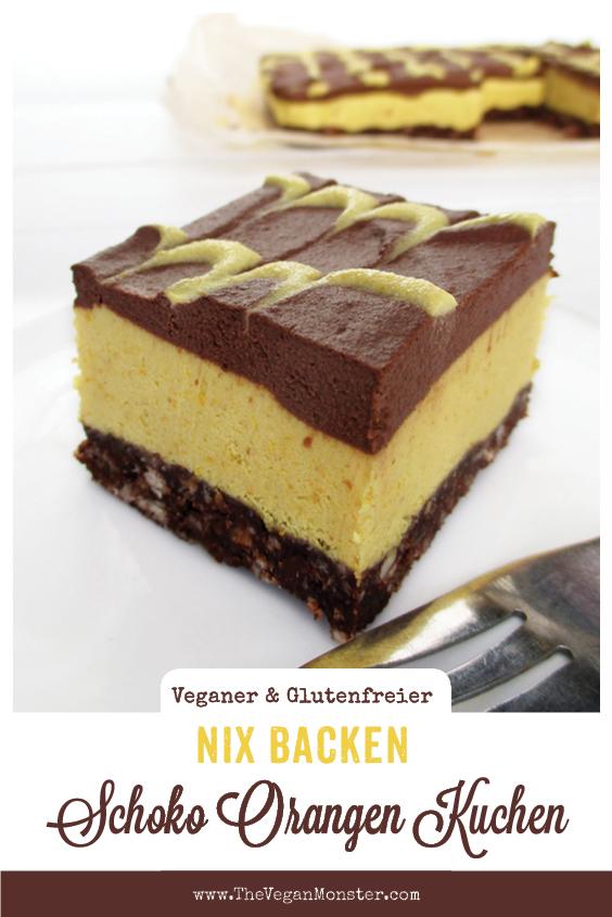 Veganer Glutenfreier Rohkoestlicher Nix Backen Orangen Schokoladen Kuchen Rezept P2