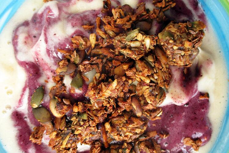 Veganes Glutenfreies Hausgemachtes Muesli Ohne Nuesse Ohne Kristallzucker Fruchtgesuesst Rezept 1 1