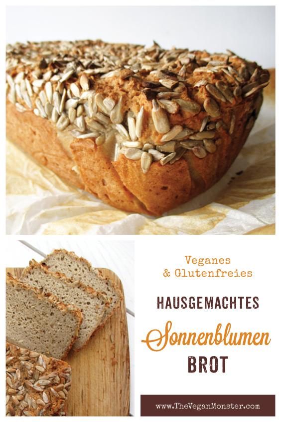 Veganes Glutenfreies Milchfreies Eifreies Sonnenblumenkern Brot Rezept Ohne Oel P1