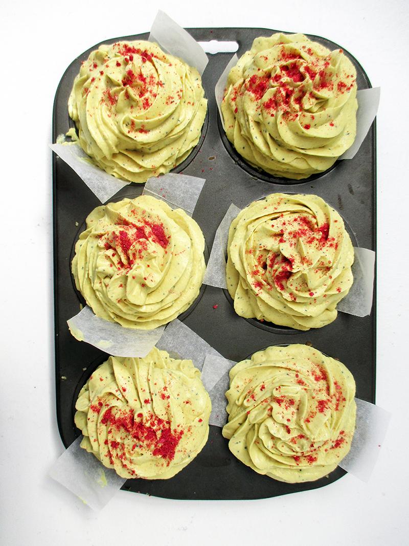 No Bake Vegan Gluten free Dairy free Lemon Poppy Seed Cake Tartlets Recipe 1
