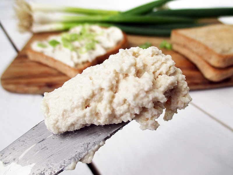 Vegan Gluten free Dairy free Soy free Cultured Cashew Cream Cheese Recipe 4