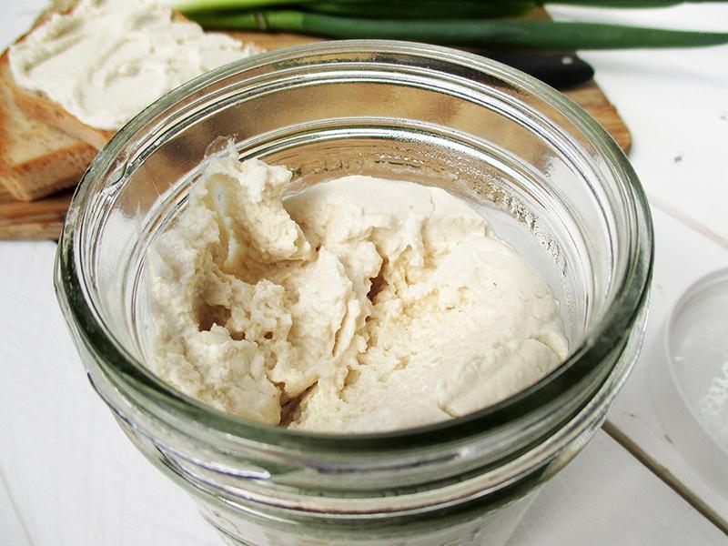 Veganer Glutenfreier Probiotischer Cashew Frisch Kaese Rezept Ohne Soja Ohne Milch 3