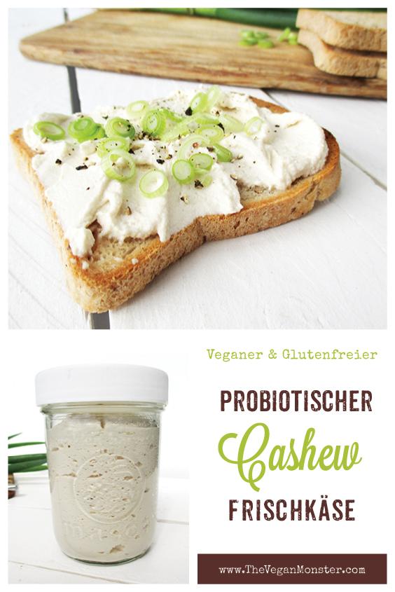 Veganer Glutenfreier Probiotischer Cashew Frisch Kaese Rezept Ohne Soja Ohne Milch P1