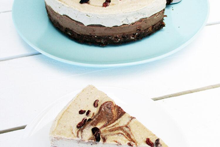 Nix Backen Cappuccino Torte Vegan Glutenfrei Ohne Zucker Ohne Milch Rezept 0 1