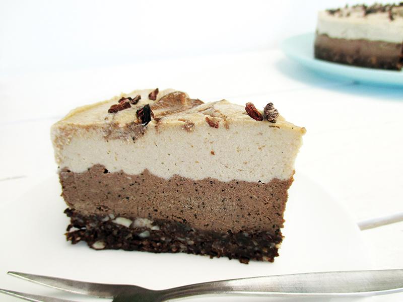 Nix Backen Cappuccino Torte Vegan Glutenfrei Ohne Zucker Ohne Milch Rezept 1